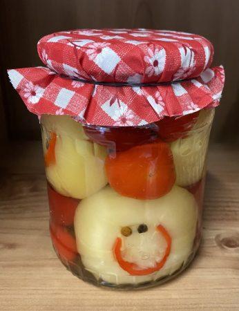 SMILEY Gefüllte Paprika mit Sauerkraut, 500 gr