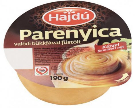 Parenyica füstölt sajt, 190 gr