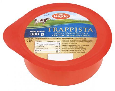 Trappista sajt, natúr, 300 gr
