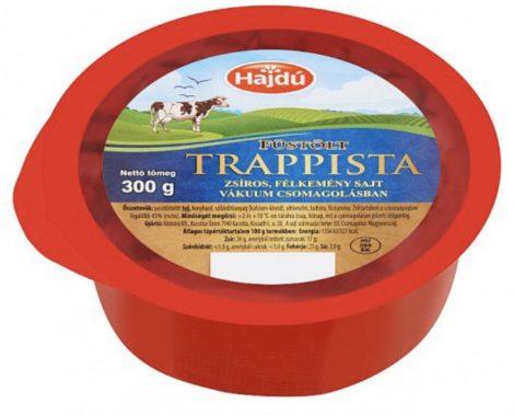 Trappista sajt, füstölt, 300 gr