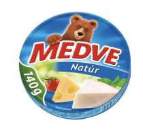 Medve Streichkäse in Dreieckform, natur, 8x17.5 gr