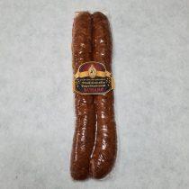 Füstölt paprikás kolbász erős, 1 pár, vákumcsomagolt, kb. 320 gr