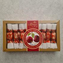 Szamos meggykrémmel töltött marcipán szaloncukor csokoládéba mártva, 250 gr