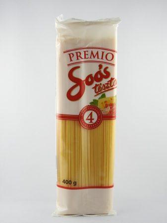 "Soos ""Spaghettiteig"", mit 4 Eier, 400 gr"