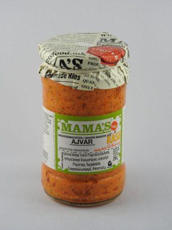Mama's Ajvar mit Käse, mild, 290 gr