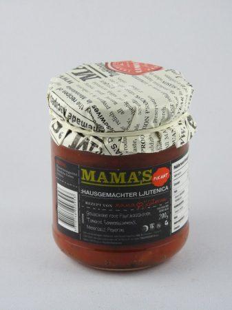 Mama's Ljutenica, scharf, 200 gr