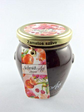 Schmidt Ági Zamatos szilva lekvár, 240 gr