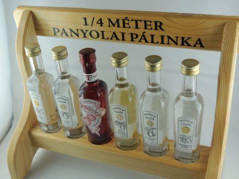"""1/4 Meter """"Panyolai"""" Palinka 40-45%, 6x5 cl"""