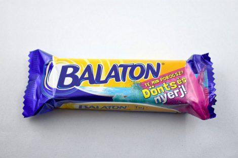 Balaton szelet, tejcsokis, kék, 30 gr