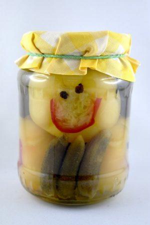 SMILEY savanyúság, csemege, 500 gr