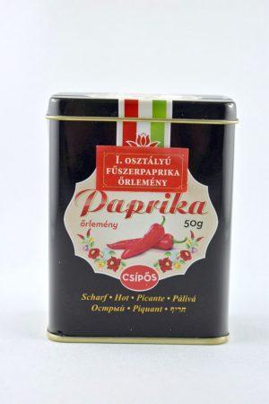 Gewürzpaprika, I. klasse aus Kalocsa, gemmahlen, scharf, 50 gr