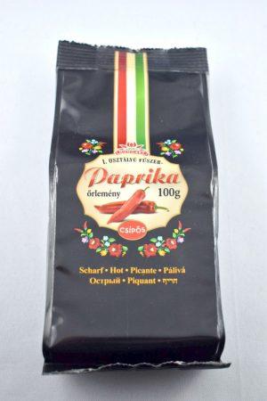 Paprika, gemahlen, scharf, 100 gr