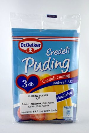 Pudingpor, vanília, 3x40 gr/csomag