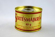 Sertésmájkrém, 62 gr