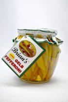 Zöld pfefferoni, enyhén csípős, 550 gr