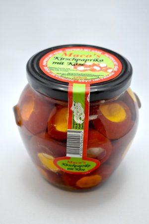Kirschpaprika, mit Quark gefüllt, 550 gr