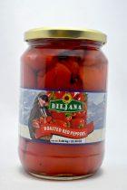 Sült piros paprika, 580 gr