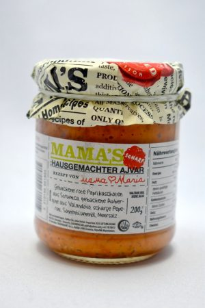 Mama's Ajvár, csípős, 200 gr