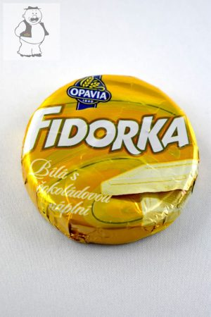 """""""Fidorka"""", mit weisser Schokolade, 30 gr"""