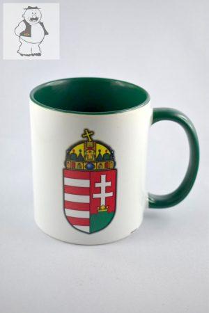 """Magyar címer"" porcelán bögre, 325 ml"