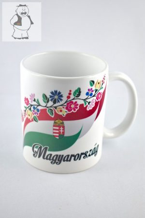 """Porzellantasse """"Ungarn"""", 325 ml"""