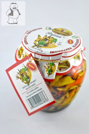 Gerösteter Pfefferoni, 550 gr